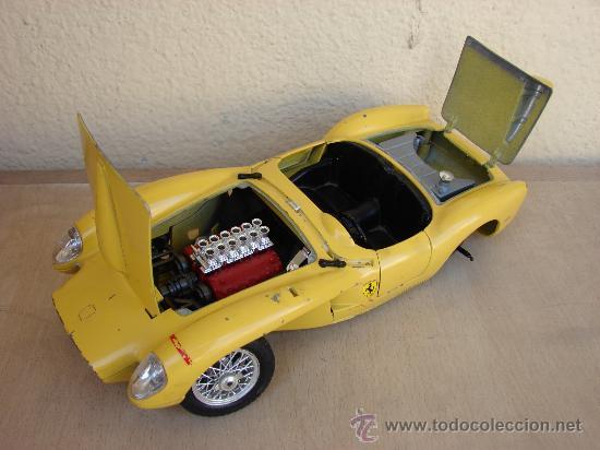 Coches a escala: Ferrari 250 testa rosa 1957 scala 1/18 Burago - Foto 3 - 31172683
