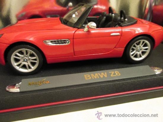 Coches a escala: Bmw z8 maisto especial edition en su caja - Foto 5 - 293543858