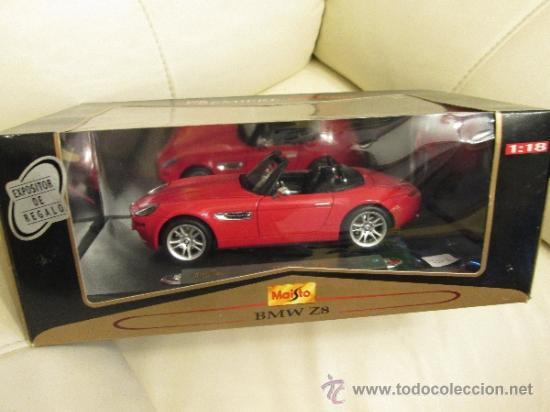 Coches a escala: Bmw z8 maisto especial edition en su caja - Foto 2 - 293543858