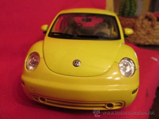 Coches a escala: Volkswagen new beatle escarabajo en su caja - Foto 3 - 293543913