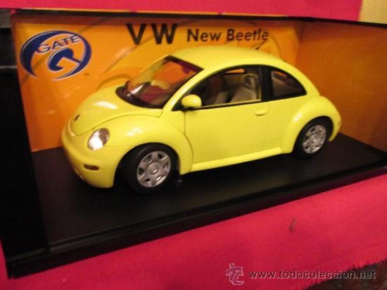 Coches a escala: Volkswagen new beatle escarabajo en su caja - Foto 2 - 293543913
