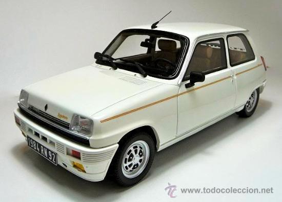 Renault 5 Laureate Turbo Escala 1  18 De Otto Mo