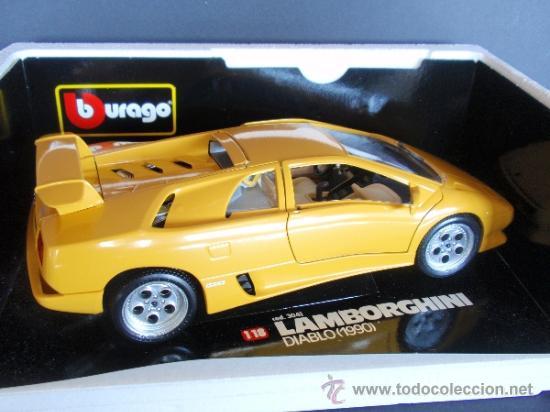 Burago 1 18 Ref 3041 Lamborghini Diablo 199 Sold Through