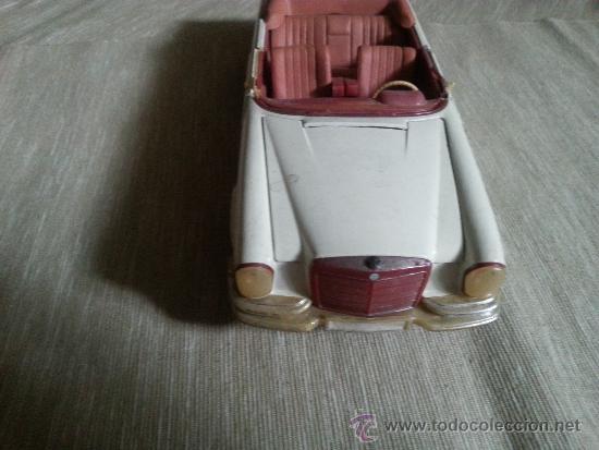 Coches a escala: antiguo juguete mercedes benz de la alemania del este - Foto 2 - 38310974