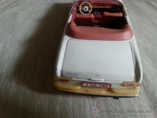 Coches a escala: antiguo juguete mercedes benz de la alemania del este - Foto 4 - 38310974