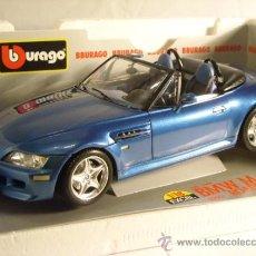 Coches a escala: BURAGO REF 3349 ESCALA 1:18 BMW M ROADSTER 1996 BBURAGO NUEVO. Lote 38920567