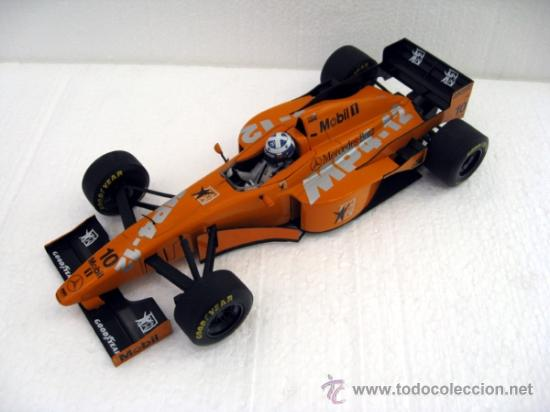 F1 MCLAREN MERCEDES MP 4-12 1997 COULTHARD TEST CAR MINICHAMPS 1:18 (Juguetes - Coches a Escala 1:18)