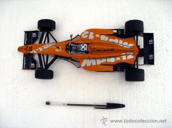 Coches a escala: F1 McLaren Mercedes MP 4-12 1997 Coulthard Test Car MINICHAMPS 1:18 - Foto 3 - 107536083