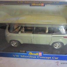 Coches a escala: COCHE METALICO, REVELL, VW MICROBUS CONCEPT CAR, ESCALA 1:18, EN CAJA. CC. Lote 40868744