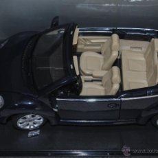 Coches a escala: VW NEW BEETLE CABRIO BURAGO. Lote 48216336