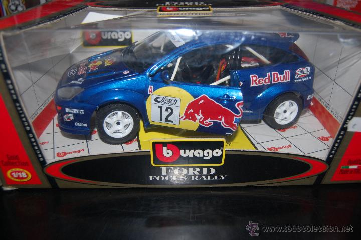 Coche Escala 1 18 Ford Focus Rally De Burago N Comprar Coches A
