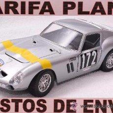 Coches a escala: FERRARI 250 GTO RALLYE TOUR DE FRANCE DEL 1964 1:18 DE BURAGO TAL Y COMO SE VE SIN CAJA. Lote 50925058