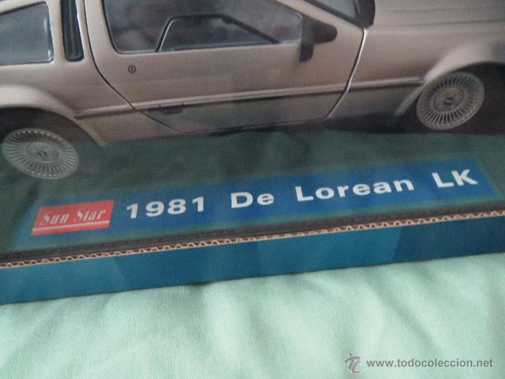 Coches a escala: DELOREAN LK MADE BY SUNSTAR 1981 CARS & COMPANY 1/18 - Foto 2 - 51920276