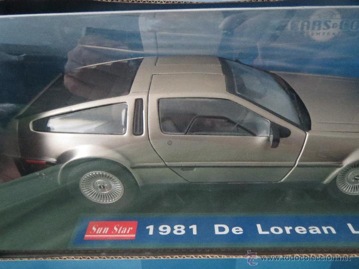 Coches a escala: DELOREAN LK MADE BY SUNSTAR 1981 CARS & COMPANY 1/18 - Foto 5 - 51920276