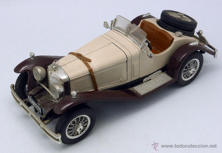 Mercedes benz ssk 1928 burago 1 18 made in ital comprar for Mercedes benz ssk 1928 burago
