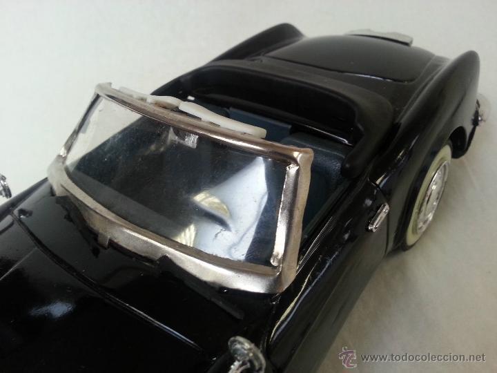 Coches a escala: BMW Convertible fricción de hojalata juguete coche c1960s 28 cm PERFECTO MADE UK. - Foto 3 - 125720118