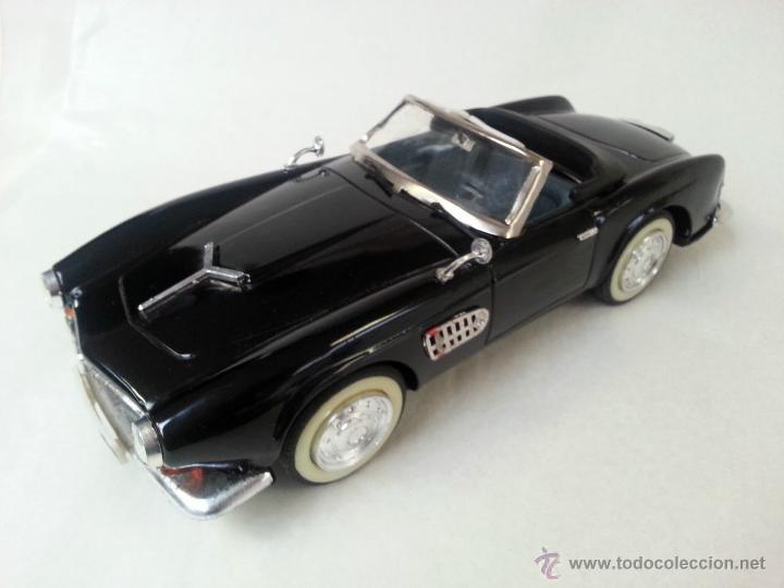 Coches a escala: BMW Convertible fricción de hojalata juguete coche c1960s 28 cm PERFECTO MADE UK. - Foto 5 - 125720118