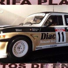 Coches a escala: RENAULT 5 MAXI TURBO RALLYE TOUR DE CORSE 1985 CHATRIOT ESCALA 1: 18 DE SOLIDO EN SU CAJA. Lote 53403147