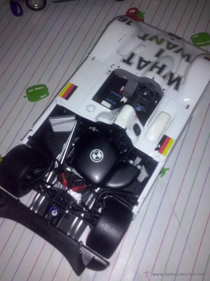 Coches a escala: Kyosho BMW v12 LMR coche 1/18 super deportivo estilo LEMANS - Logos WHAT I WANT #16 bandera ALEMANIA - Foto 3 - 53850503