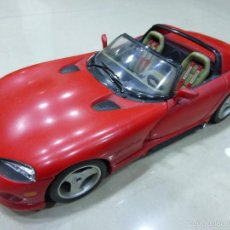 Coches a escala: DODGE VIPER RT 10 ROJO ESCALA 1:18 - BURAGO. Lote 55933574