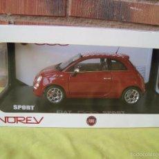 Coches a escala: FIAT 500 NOREV 1,18 NUEVO EN CAJA. Lote 55967495