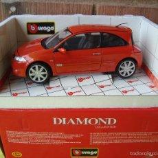 Carros em escala: RENAULT MEGANE DE BBURAGO BURAGO 1,18 NUEVO EN CAJA. Lote 55968676