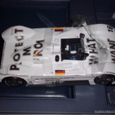 Coches a escala: 1:18 KYOSHO BMW V12 LMR ART CAR JENNY HOLZER SPECIAL SPANISH SET DEALER BOX RARE. Lote 56893175