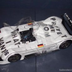 Coches a escala: 1:18 KYOSHO BMW V12 LMR ART CAR JENNY HOLZER SPECIAL SPANISH SET DEALER BOX RARE. Lote 56893216