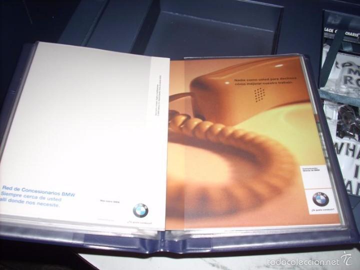 Coches a escala: 1:18 KYOSHO BMW V12 LMR ART CAR JENNY HOLZER SPECIAL SPANISH SET DEALER BOX RARE - Foto 8 - 56893216