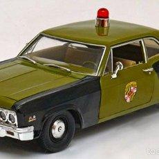 Coches a escala: CHEVROLET BISCAYNE POLICÍA MARYLAND 1966 ESCALA 1/18 DE ERTL/AW. Lote 203187080