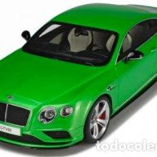 Coches a escala: BENTLEY CONTINENTAL GT V8 S ESCALA 1/18 DE GT SPIRIT. Lote 61403995