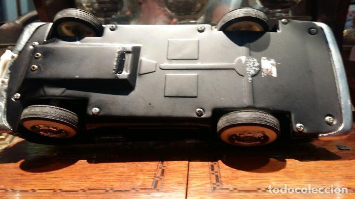 Coches a escala: BMW Convertible fricción de hojalata juguete coche c1960s 28 cm PERFECTO MADE UK. - Foto 6 - 125720118