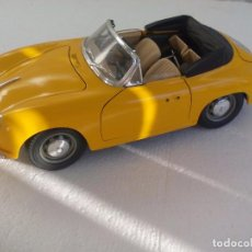 Coches a escala: PORSCHE 356 B 1961. AMARILLO.. BURAGO COCHE ESCALA 1/18 - MADE IN ITALY. Lote 62630284