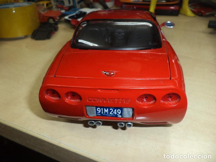 Coches a escala: Chevrolet Corvette 2001.Spiderman Marvel Team.Esc.1/18 TM. MARVEL Maisto- 2003. - Foto 4 - 62696800