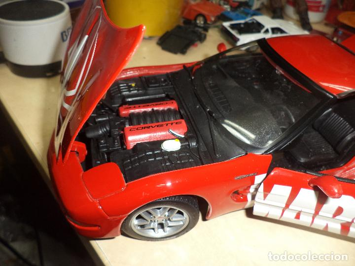 Coches a escala: Chevrolet Corvette 2001.Spiderman Marvel Team.Esc.1/18 TM. MARVEL Maisto- 2003. - Foto 6 - 62696800