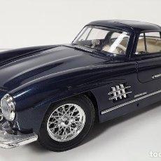 Coches a escala: MERCEDES 300 SL 1954. METAL. BURAGO. 1/18. MADE IN ITALY. CIRCA 1950.. Lote 80007413