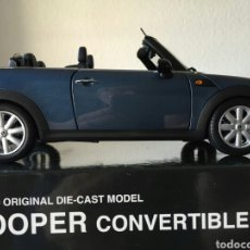 Coches a escala: KYOSHO MINI COOPER CONVERTIBLE 2009 1:18. Lote 80535457