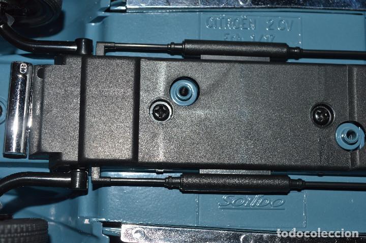 Coches a escala: Citroen 2 Cv - escala 1/17 - SOLIDO. En blister original - Foto 4 - 81743044