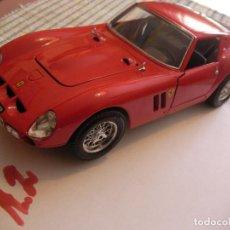 Coches a escala: MAQUETA COCHE FERRARI GTO 1962 BURAGO MADE IN ITALY. Lote 82669796