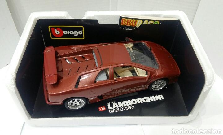 Burago Lamborghini Diablo 1990 1 18 Nuevo Co Sold Through