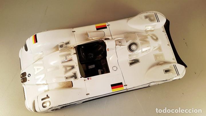 Coches a escala: Coche a escala 1:18 BMW v12 LMR de Kyosho. Edición limitada encargada por BMW . Le falta el alerón - Foto 2 - 87506788