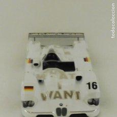 Coches a escala: COCHE A ESCALA 1:18 BMW V12 SUPER DEPORTIVO ESTILO LEMANS. LOGO WHAT I WANT # 16 F537. Lote 92788710