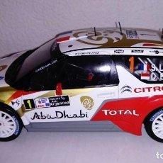 Coches a escala: CITROËN DS3 WRC- 2013- S LOEB. ESC 1/18. Lote 93173670