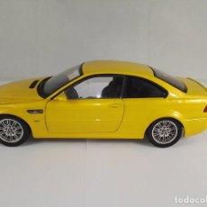 Coches a escala: BMW M3 SERIES COUPE E46 KYOSHO ESCALA 1:18 CON DEFECTO. Lote 95736319