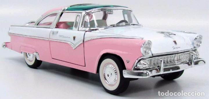 Coches a escala: Ford Crown Victoria 1955 escala 1/18 de Lucky Die Cast - Foto 3 - 153364786
