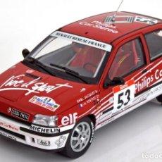 Coches a escala: RENAULT CLIO 16S RALLY KORSIKA 1991 ESCALA 1/18 DE NOREV. Lote 98622439