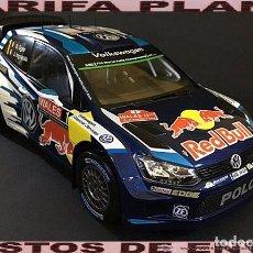 Coches a escala: VW POLO R WRC RALLYE GALES 2015 S.OGIER ESCALA 1:18 DE ALTAYA EN SU CAJA. Lote 98629011