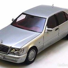Coches a escala: MERCEDES S320 (W 140) 1991 ESCALA 1/18 DE NOREV. Lote 98650015