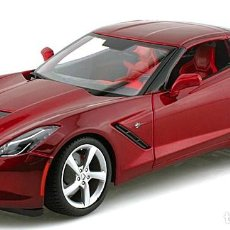 Coches a escala: CHEVROLET CORVETTE STINGRAY 2014 ESCALA 1/18 DE MAISTO. Lote 190147141