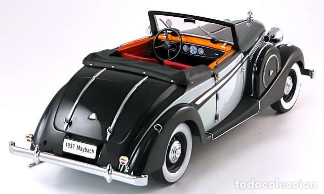 Coches a escala: Maybach SW38 Cabriolet 2 Doors 1937 escala 1/18 de Signature Models - Foto 2 - 101300367